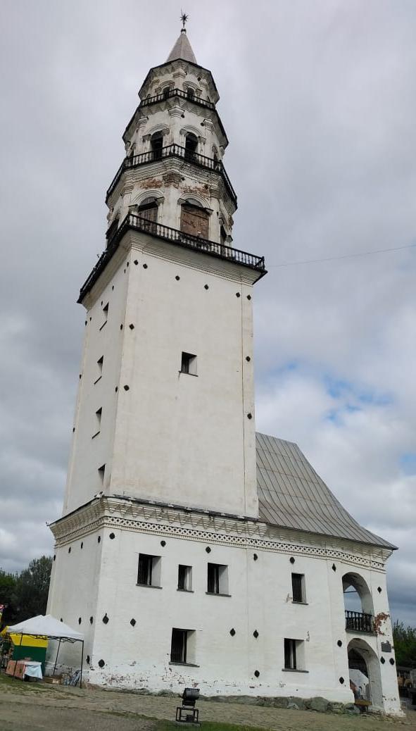 Невьянская башня.
