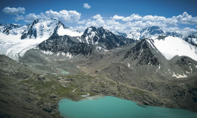 Горы Тянь-Шань.