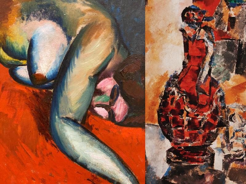 Эта картина и ниже - коллажи из разных залов, поэтому не пугайтесь, это разные произведения искусства:)