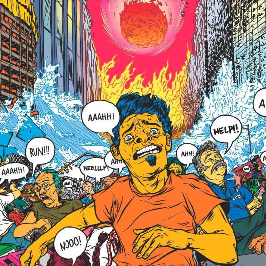 Иллюстрация с обложки книги «Смерть с небес. Наука о конце света»