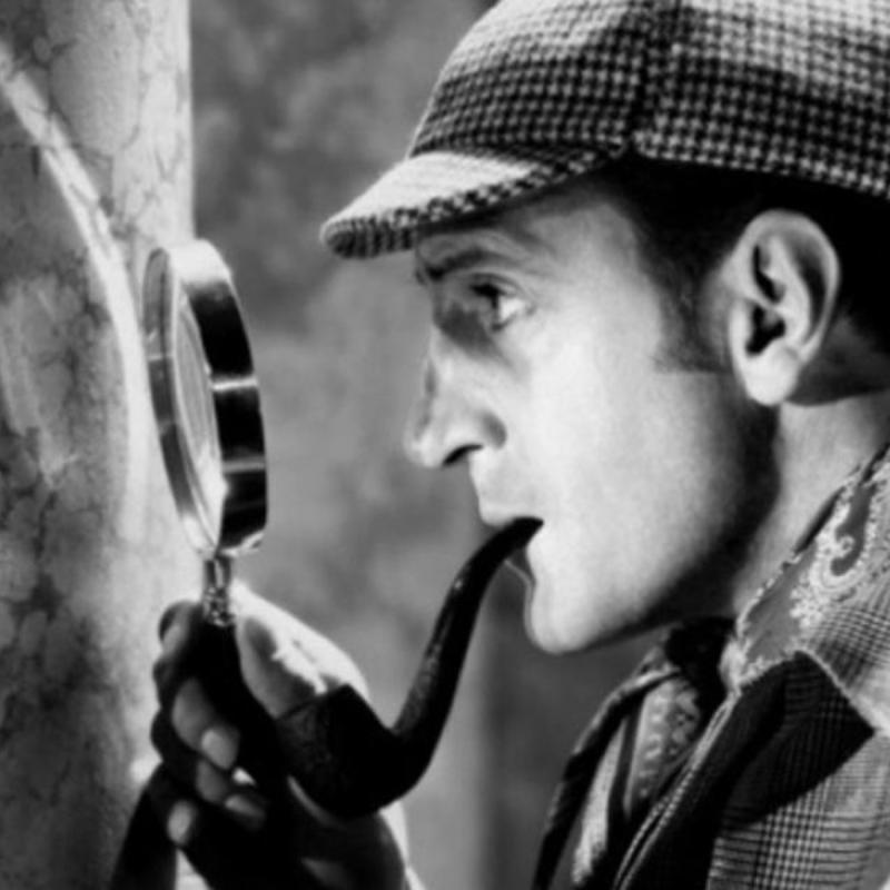 Один из многих кинообразов Шерлока Холмса. Фото: God Evidence