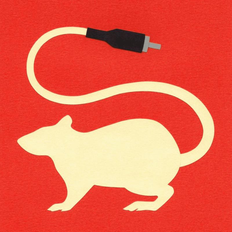 Фан-арт к роману Чайны Мьевиля «Крысиный король». Источник: deviantart.com