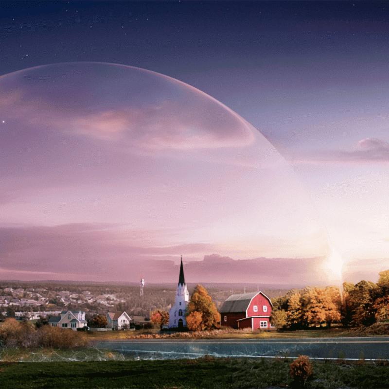 Кадр из сериала «Под куполом» по роману Стивена Кинга. Источник: The New York Times