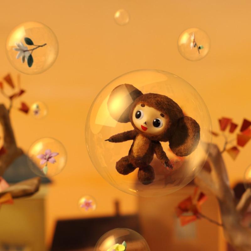 Кадр из японской экранизации «Чебурашки». Фото: Anime News Network