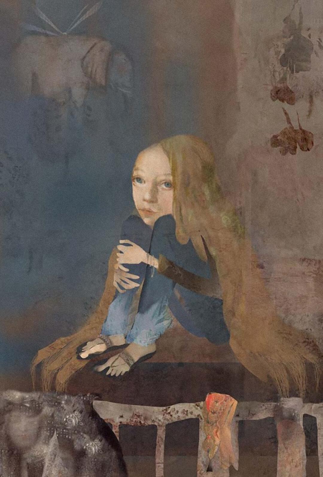 Иллюстрация Наиры Мурадян с обложки книги Мариам Петросян «Дом, в котором… Том 3. Пустые гнезда»
