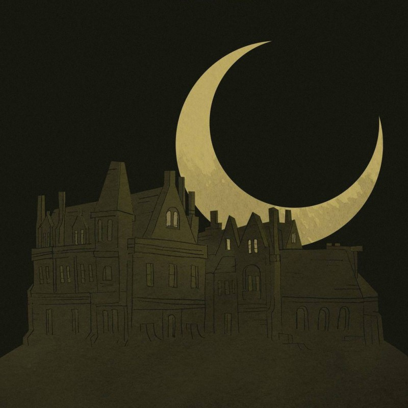 Иллюстрация с обложки книги «Призрак дома на холме» Ширли Джексон. Источник: godoggocafe.com