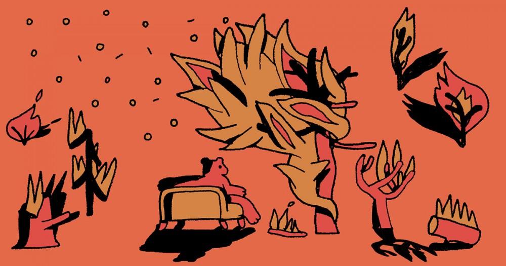Иллюстрация: Тим Яржомбек, специально для Bookmate Journal