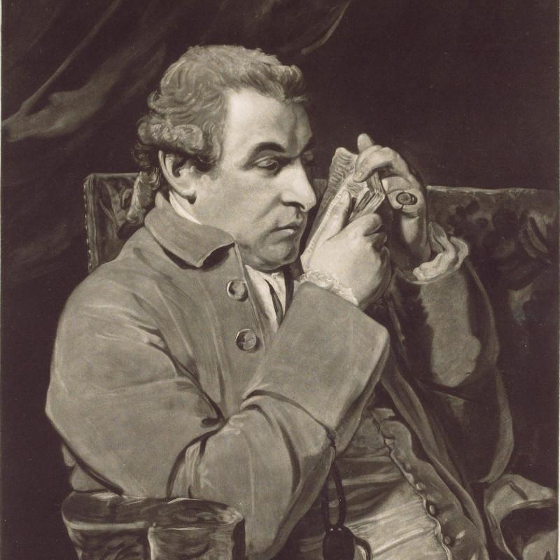 Джузеппе Баретти, итальянский поэт и литературный критик XVIII века. Художник Джошуа Рейнольдс