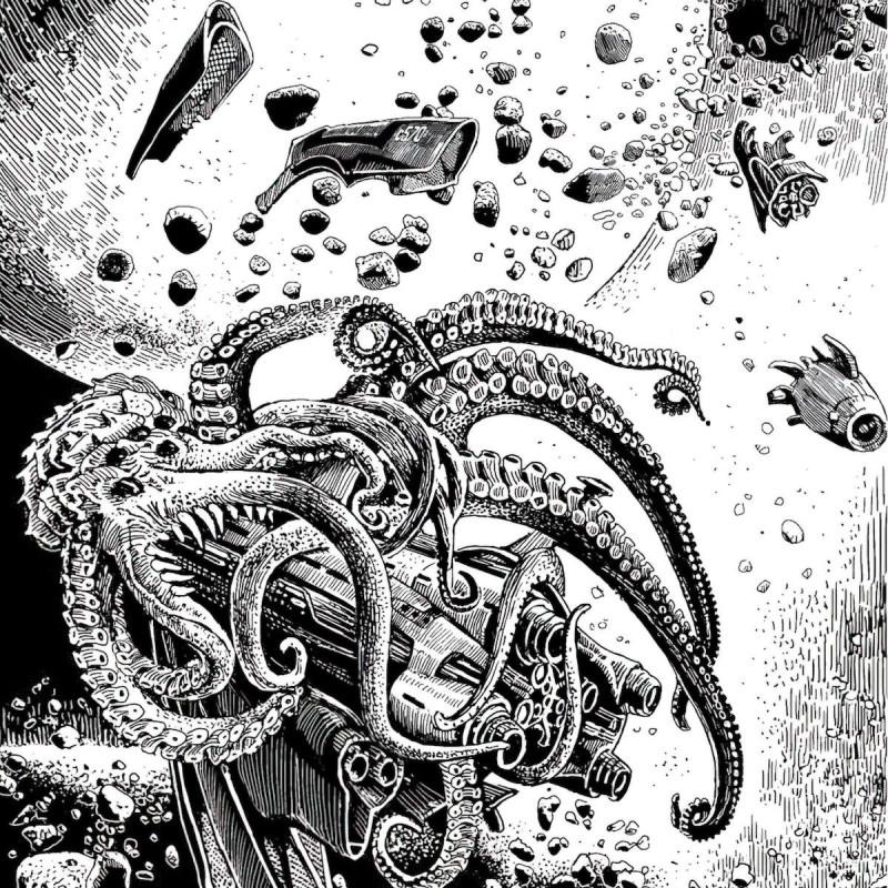 Иллюстрация из книги «Корабль отплывает в полночь». Художник: Сергей Григорьев