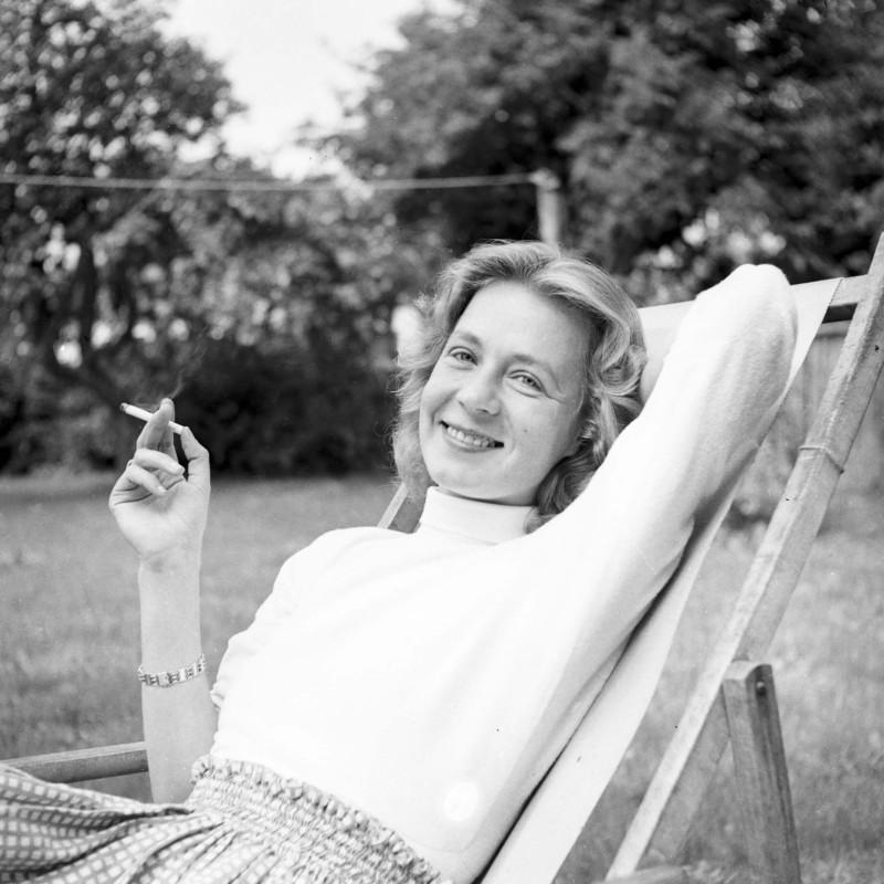 Тове Дитлевсен (1952). Фото: Jarner Palle, Ritzau Scanpix. Источник: nok.se/forfattare/d/tove-ditlevsen