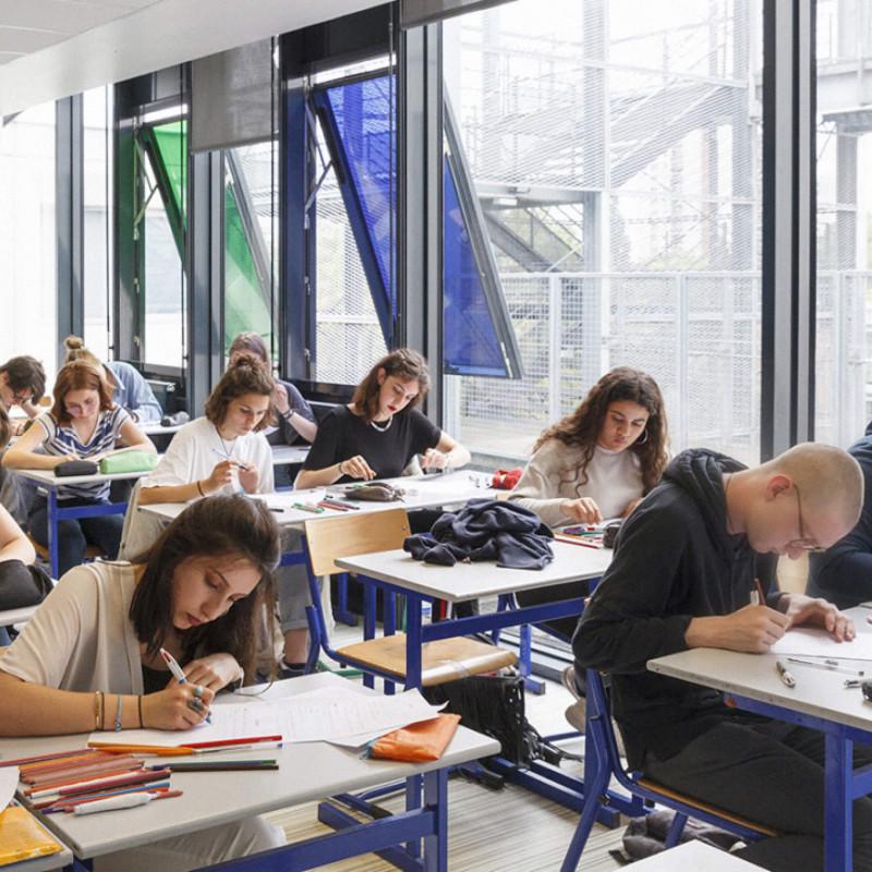 Класс в одном из французских лицеев. Источник: Министерство национального образования Франции