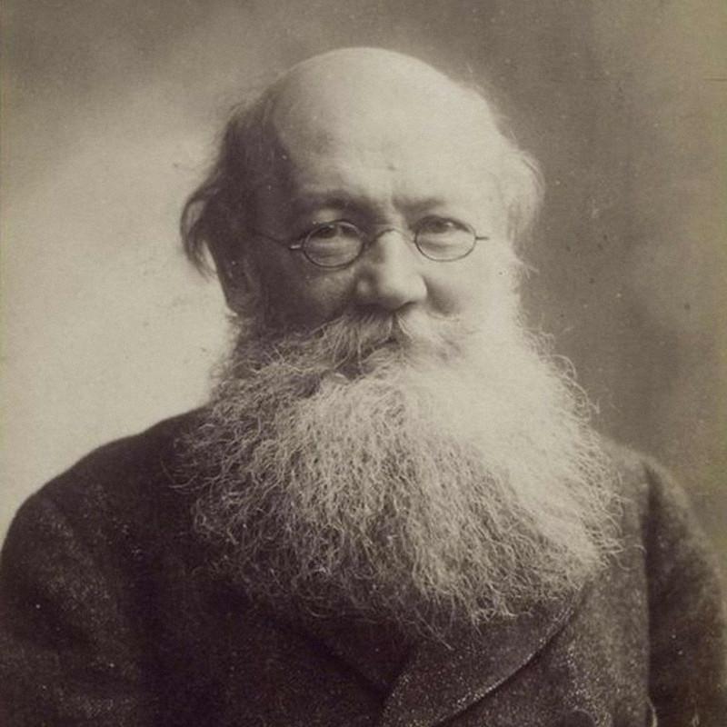 Петр Кропоткин в 1900 году / F. Nadar