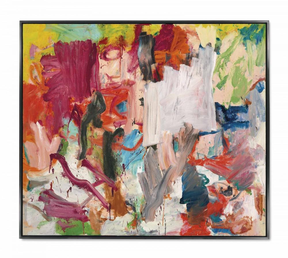 Виллем де Кунинг, «Без названия XXV», В ноябре 2016 года эта работа была куплена за 66 миллионов долларов. Источник: christies.com