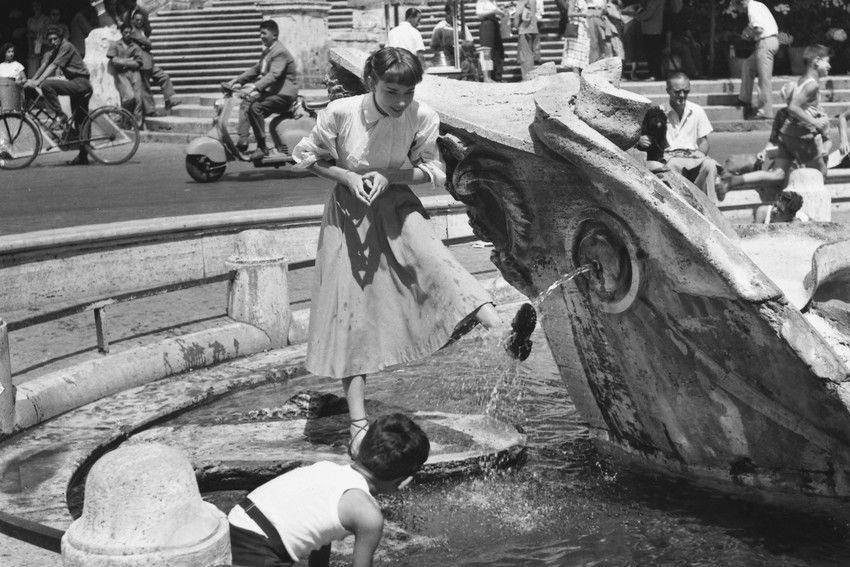 Одри Хепберн на съемках фильма «Римские каникулы», AFP