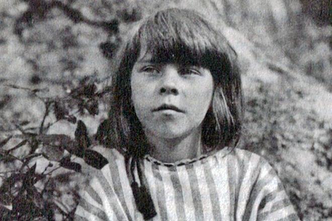 Туве Янссон в детстве. Фото: yutais.ru