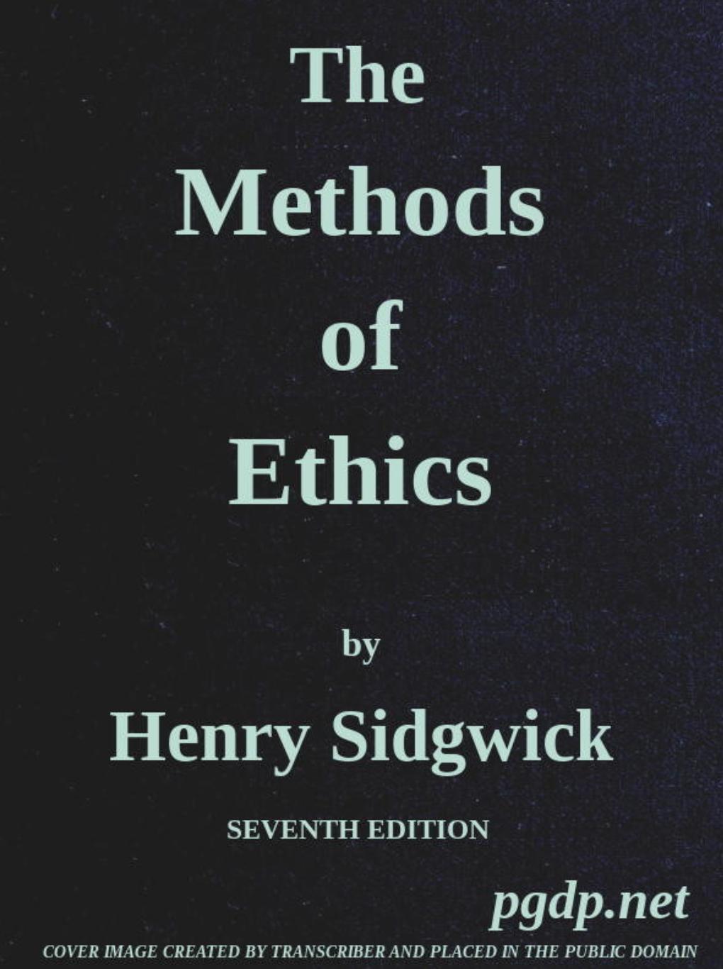 Генри Сиджвик — был одним из самых влиятельных этических философов викторианской эпохи.