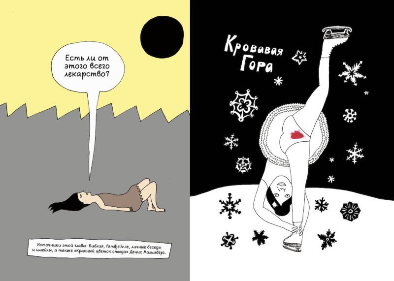 Страницы из комикса «Плод познания»