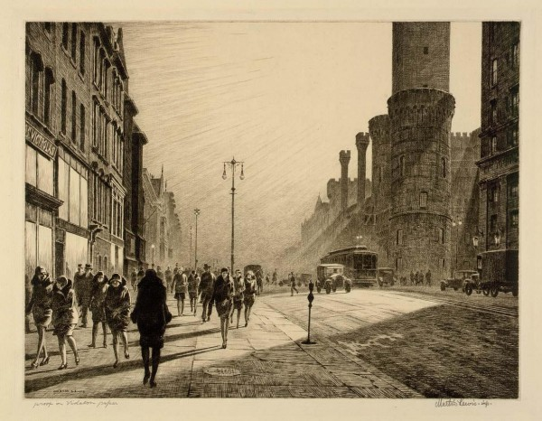 Martin-Lewis_1929_Quarter-of-Nine-Saturday's-Children