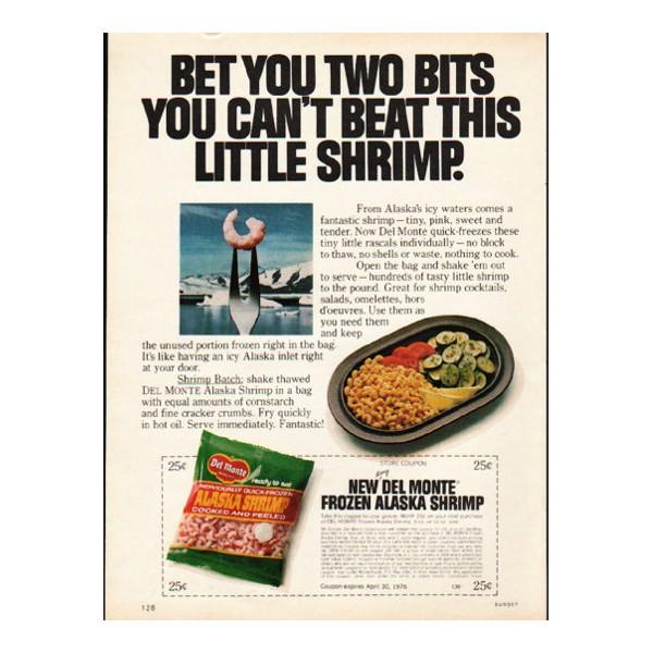 1976 del monte shrimp