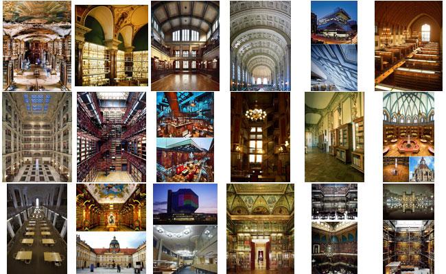 Вашему вниманию представлена подборка из 50 самых красивых библиотек мира, признанных лучшими по архитектуре и оформлению интерьера. Поход за книгой в такую библиотеку скорее похож на экскурсию или даже особый обряд получения зн