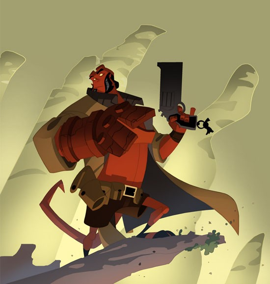 Animated HellBoy