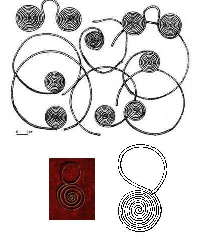 мартыновка и височные кольца