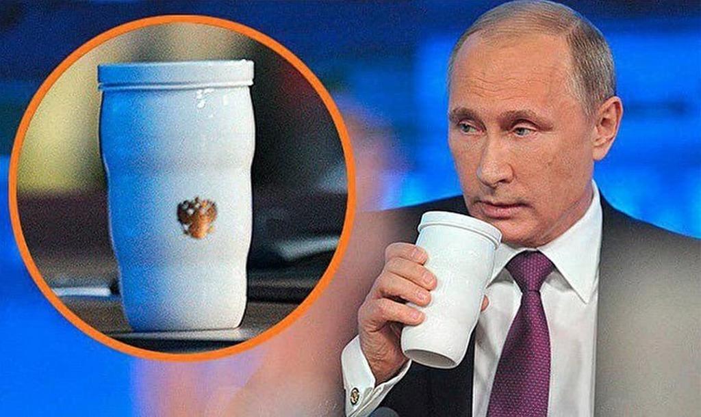 На случай провала: Путин приехал в Осаку на саммит G20 с собственной кружкой