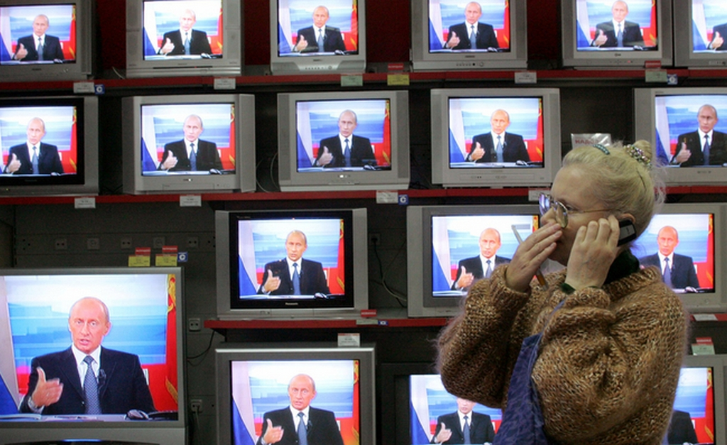Прекрасная новость - российского телевидения умирает со скоростью миллион