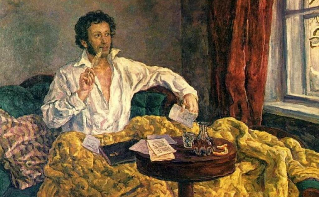 О мухах, Пушкине и водке