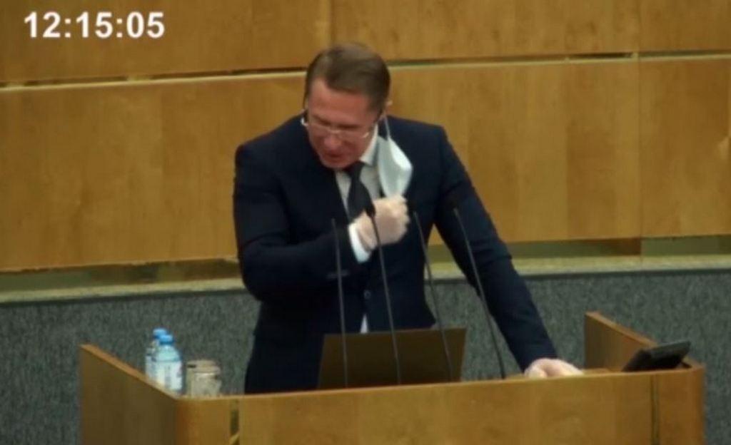 Видео дня: Начальник Госдумы Володин заставил министра здравоохранения снять