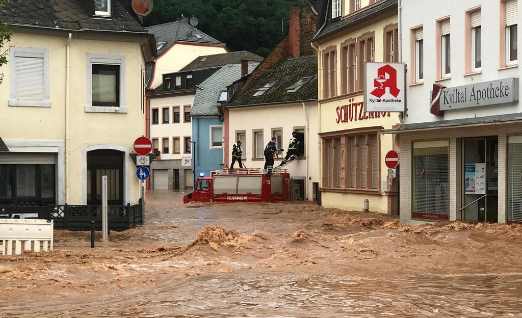 Фото дня: Катастрофическое наводнение в Германии