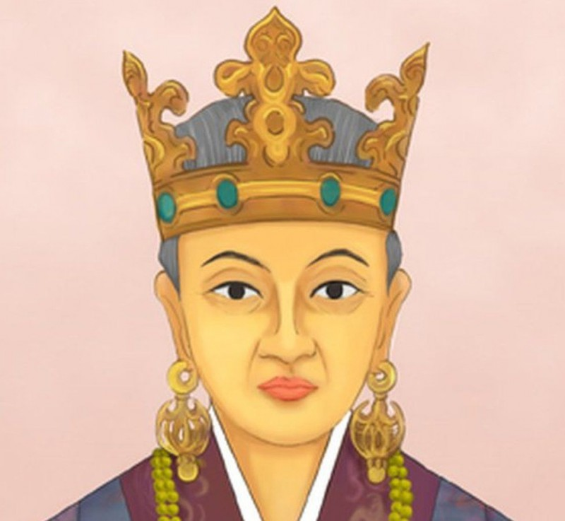 (изображение королевы Хео Хван Ок)