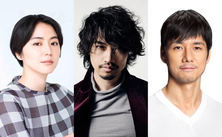 (на фото актеры Масами Нагасава, Такуми Саито и Хидэтоси Нисидзима)