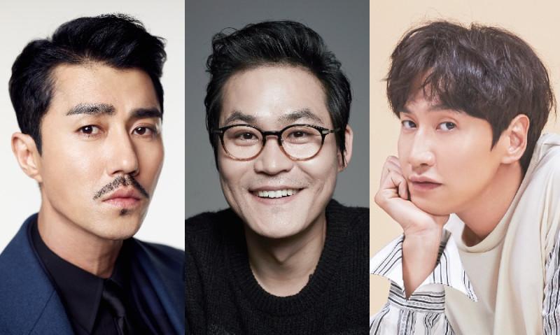 (на фото актеры Чха Сын Вон, Ким Сон Гюн и Ли Гван Су)