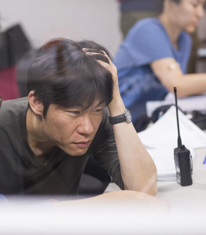 (на фото режиссер Хон Вон Чхан)