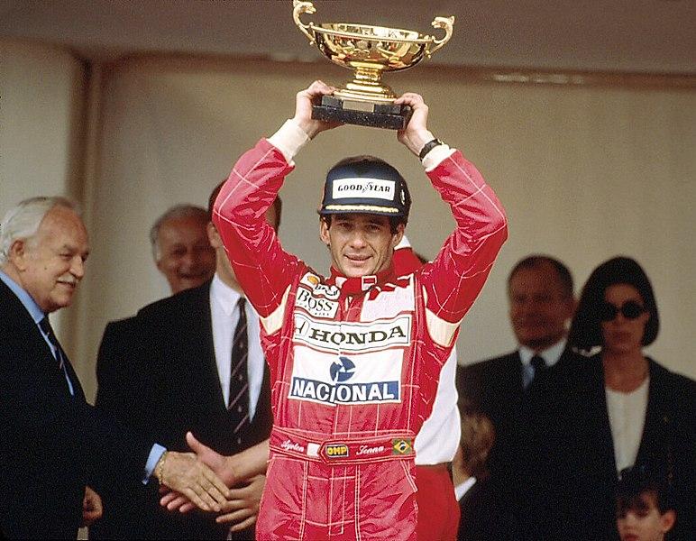 Айртон Сенна — победитель Гран-при Монако 1992 г.