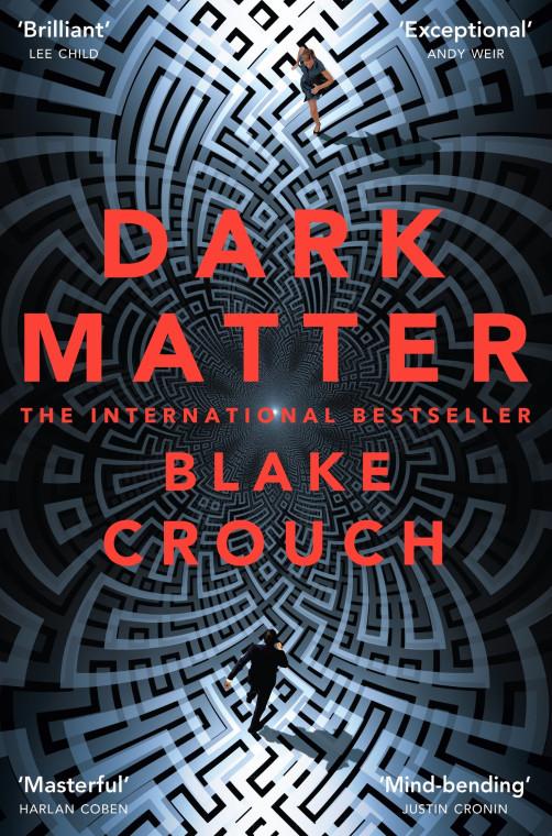 """Обложка книги """"Тёмная материя"""" Блейка Крауча"""