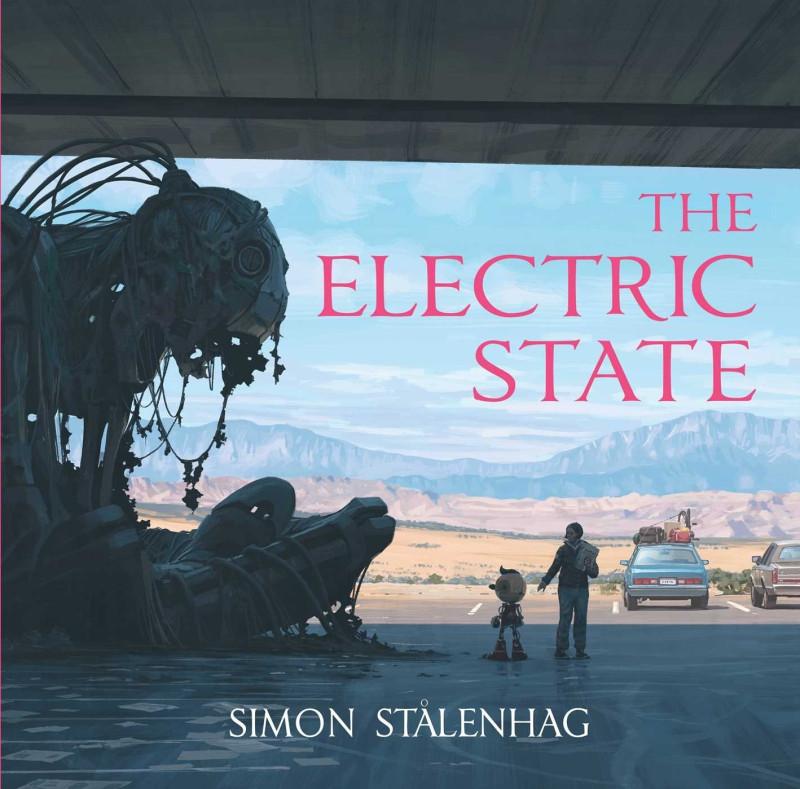 Обложка графического романа «Электрический штат»