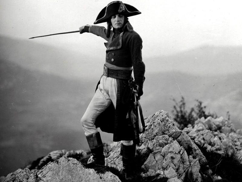 """Кадр из фильма """"Наполеон"""" 1927 года"""