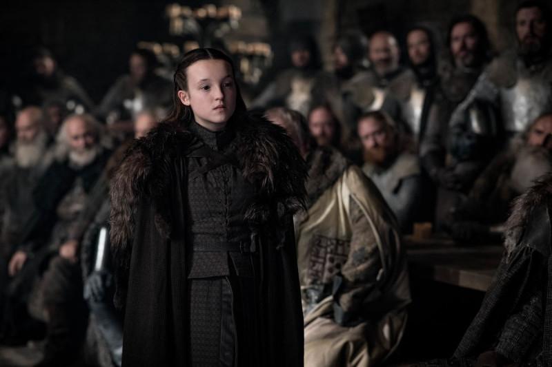 Белла Рэмси в роли Лианны Мормонт в «Игры престолов»