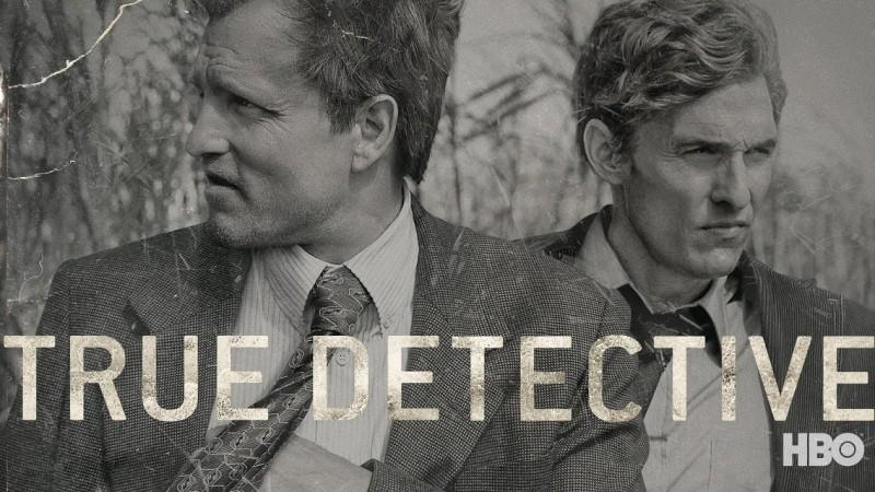 "Промо-постер первого сезона ""Настоящего детектива"""