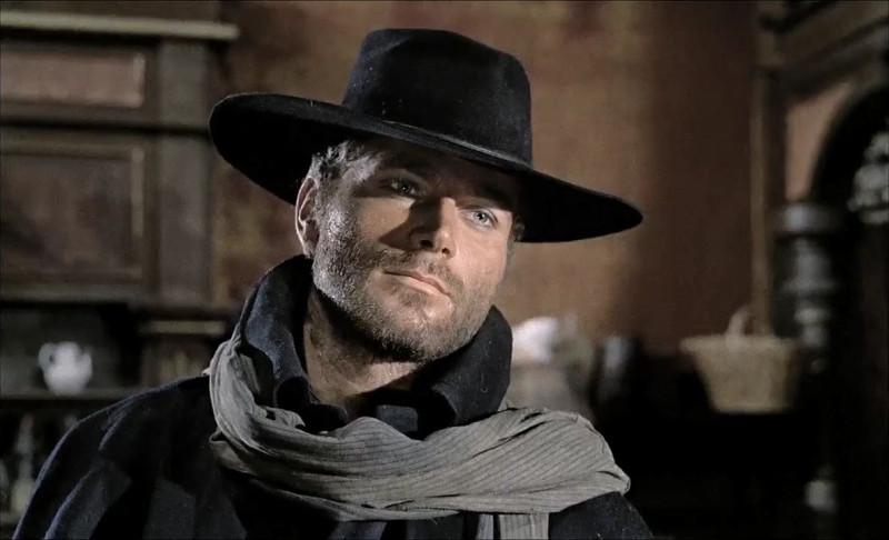 Франко Неро в роли Джанго, 1966г.