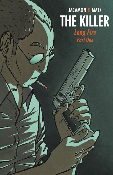 Обложка графического романа The Killer