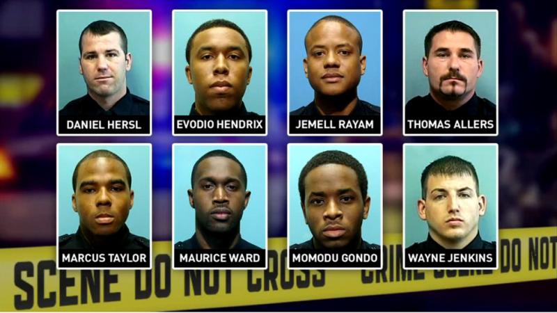 8 полицейских из Gun Trace Task Force
