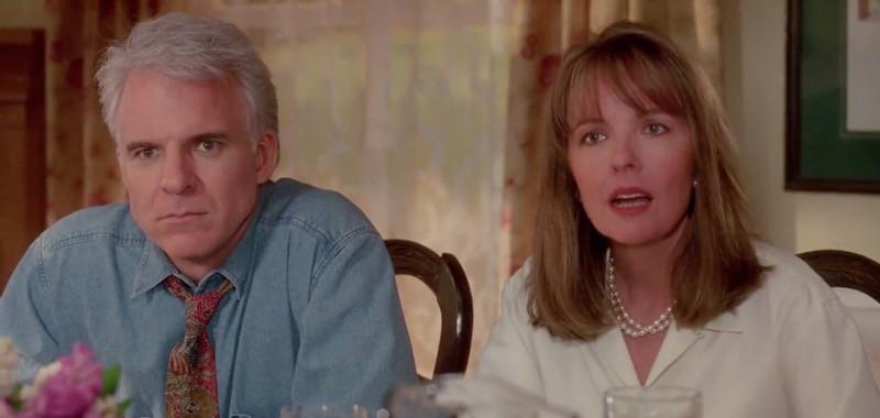"""Стив Мартин и Дайан Китон в """"Отце невесты"""" 1991г."""