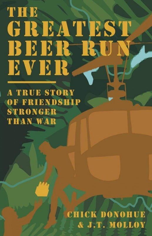 Обложка книги The Greatest Beer Run Ever: A True Story of Friendship Stronger Than War