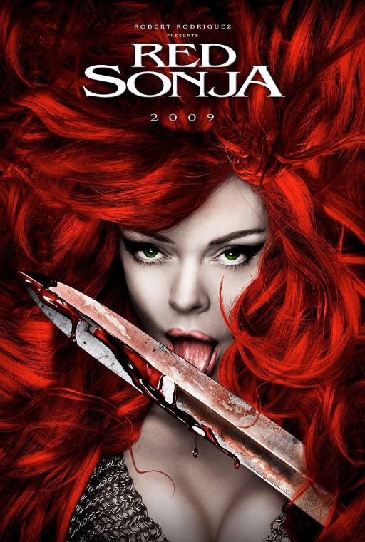 """Промо-постер """"Рыжей Сони"""" с Роуз МакГоун"""