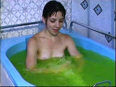 зелёнка в ванной
