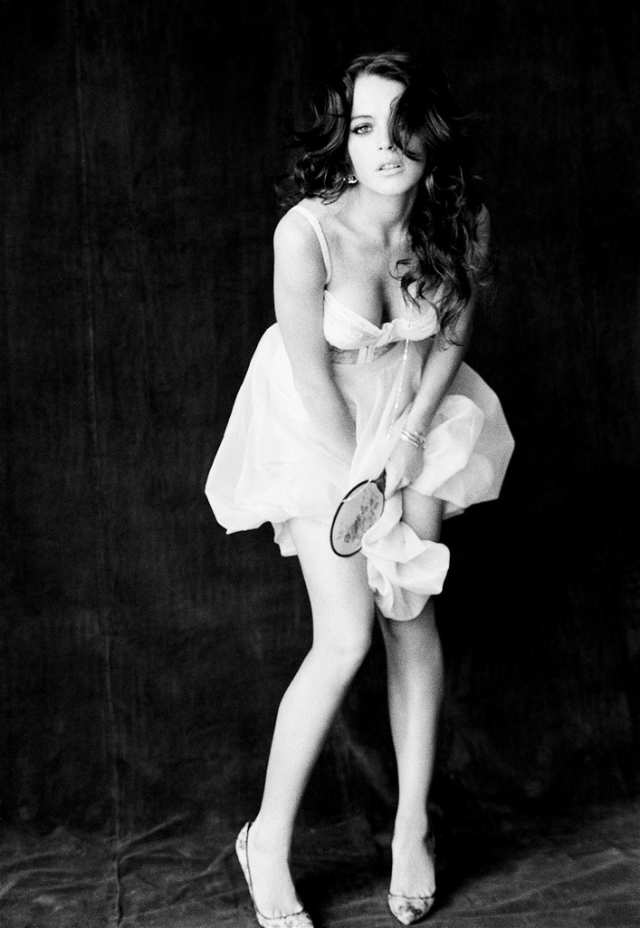 Lindsay Lohan by Ellen