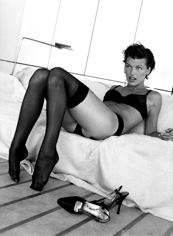 Milla Jovovich by Pamela Hanson